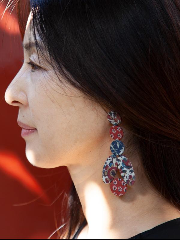 boucles-oreilles-fleurs-soie-bijoux-textile-fait-main-Valerie-Hangel