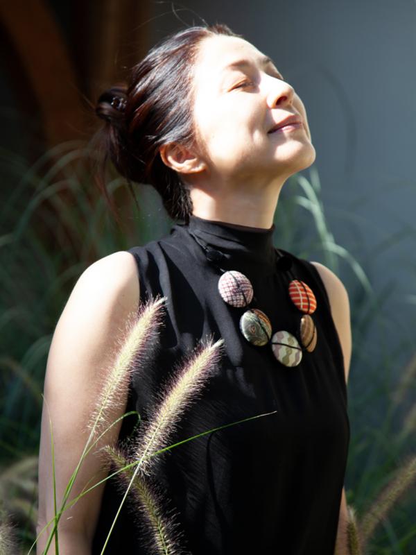 collier-hiroko-Jjapon-textile-kimono-Galerie-h-geneve