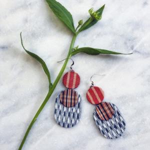 boucles-d-oreilles-ikat-kimono-bijoux-textile-createur-valerie-hangel-galerie-h-carouge