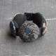 bracelet-Hiroko-gris-indigo-coton-bijoux-createur-carouge-geneve-hangel