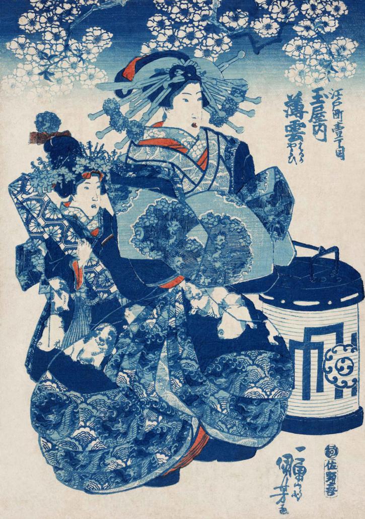 Estampe-Kimono-Japon-Inspiration-Valerie-Hangel-Galerie-H