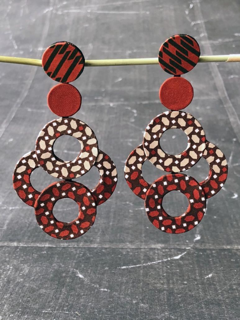 boucles-oreilles-Venise-bijoux-tissus-soie-foulards-ancien-boutique-Hangel-