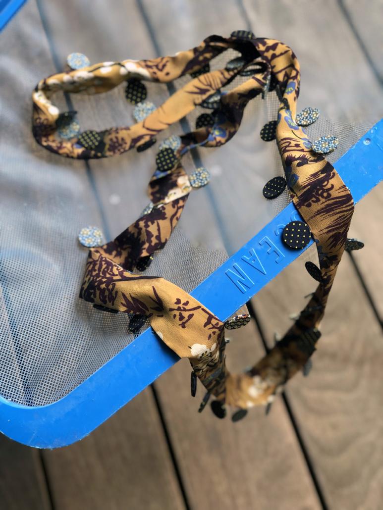 collier-Ocean-ruban-soie-kimono-ancien-bijoux-boutique-Carouge-Geneve