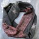 Echarpe-tube-Erable-soie-imprime-kimono-cadeaux-Hangel-boutique-accessoire-foulard-patchwork-Ikat