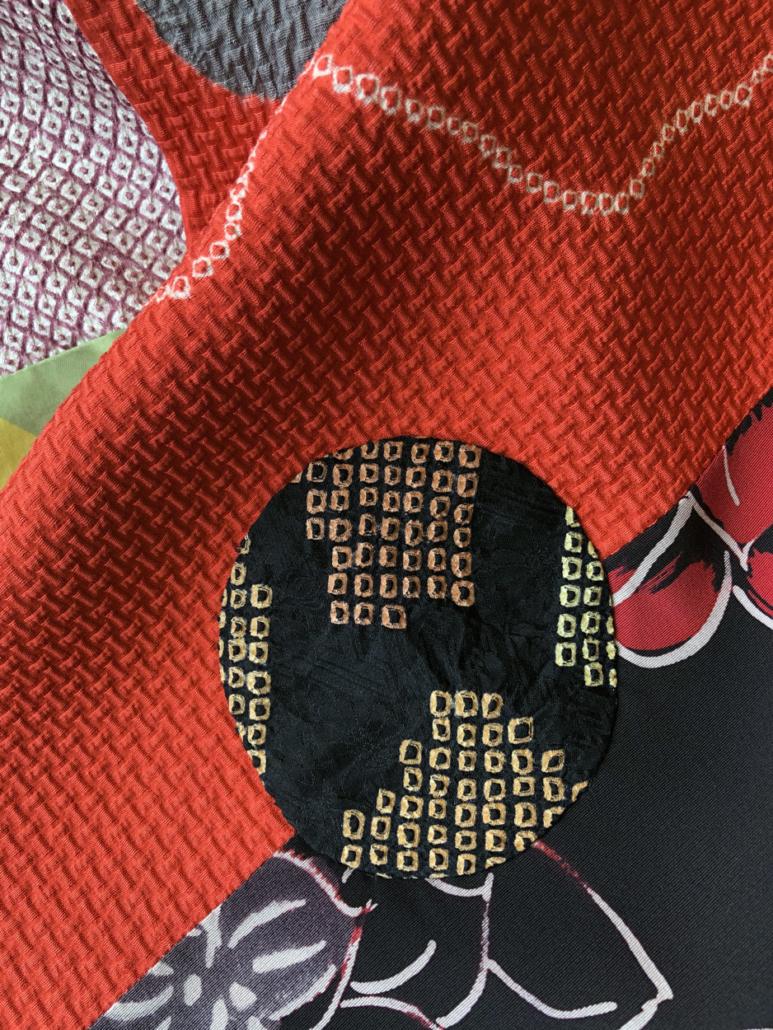 Scarf-accessory-kimono-vintage-patchwork-Hangel-Geneva