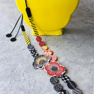 collier-bouquet-kimono-foulard-ancien-fait-main-valerie-hangel-geneve