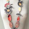 Collier-soie-kimono-creation-unique-fait-main-atelier-Galerie-h-Valerie-hangle-geneve
