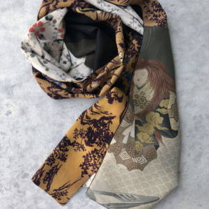 echarpe-soie-kimonos-piece-unique-artisanat-local-tissus-anciens-accessoire-mode-Valerie-Hangel-galerie-h-carouge