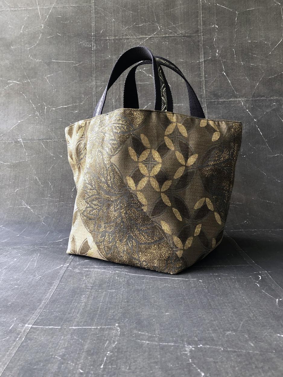 sac-tissu-fait-main-artisanat-piece-unique-coton-kimono-or-Valerie-Hangel-Galerie-h-Geneve