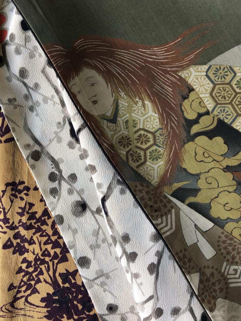 echarpe-accessoire-en-soie-mode-femme-collection-hiver-Valerie-hangel-galerie-h-geneve