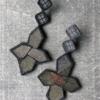 textile-earrings-star-silk-kimono-obi-unique-piece-jewellery-designer-valerie-hangel