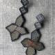 earrings-star-brocade-silk-kimono-obi-haute-couture-unique-piece-jewelry-designer-valerie-hangel