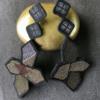 textile-earrings-star-kimono-gold-silver-luxury-handmade-designer-valerie-hangel-geneva-carouge
