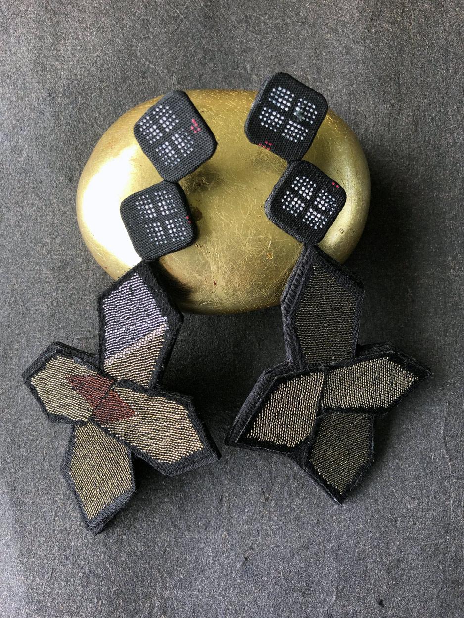 earrings-star-kimono-gold-silver-luxury-handmade-designer-valerie-hangel-geneva-carouge