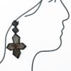 boucles-oreilles-etoile-brocart-de-soie-bijoux-fait-main-piece-unique-creation-valerie-hangel-carouge