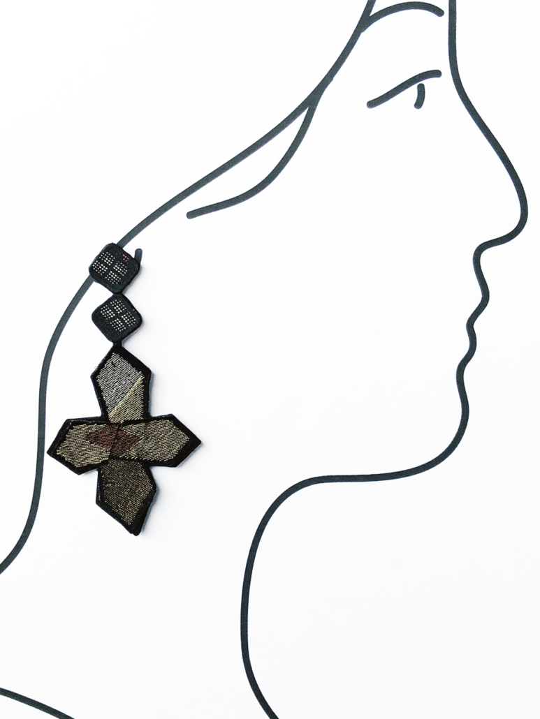 Earring-fashion-handmade-fine-art-jewellery-contemporary-galerie-h-Geneva-Hangel