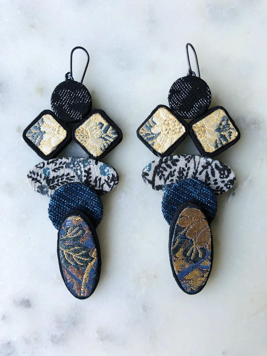 Boucles-oreilles-soie-kimono-ancien-japon-bijoux-createur-accessoire-mode-artisan-Hangel-Carouge