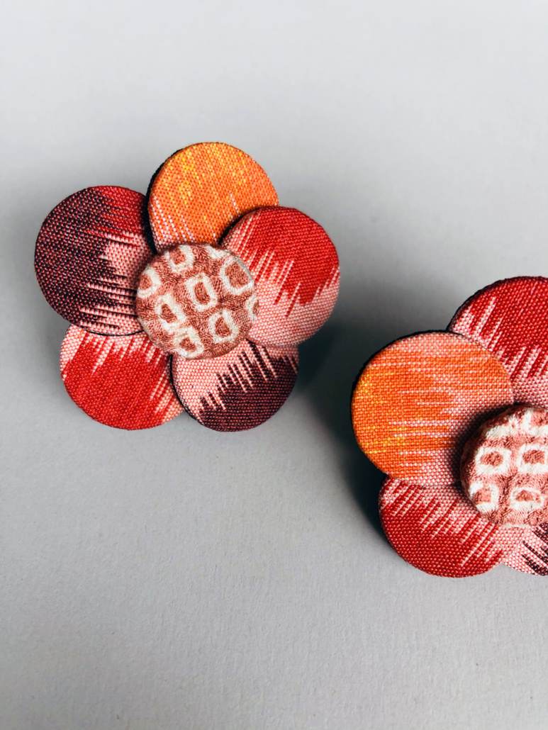 earrings-cherry-blossom-jewellery-kimono-vintage-designer-valerie-hangel-geneva