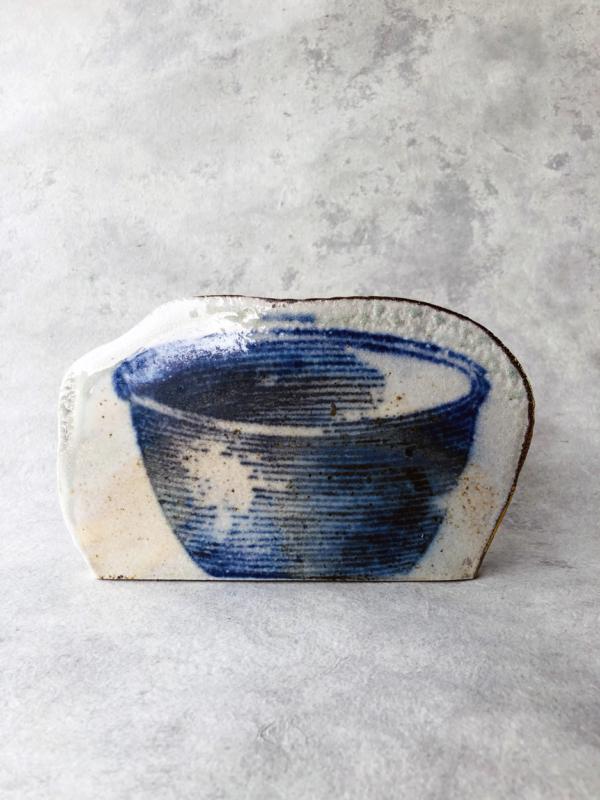 ceramic-paul-scott-blue-print-indigo-art-sculpture-galerie-h-carouge-geneva