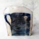contemporary-ceramic-blue-print-handmade-artist-paul-scott-galerie-h-carouge-geneva
